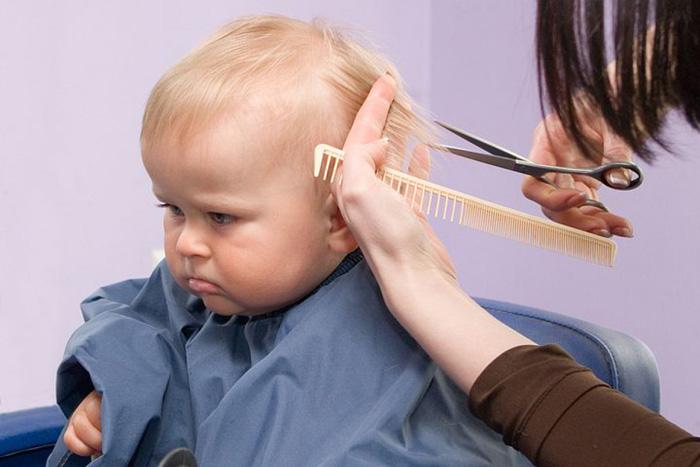 ребенок и стрижка